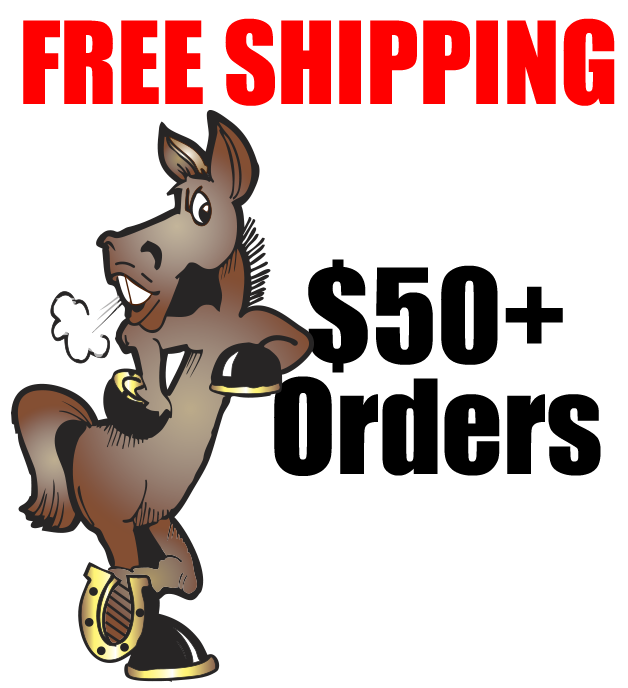 Free shipping on orders $50 or more
